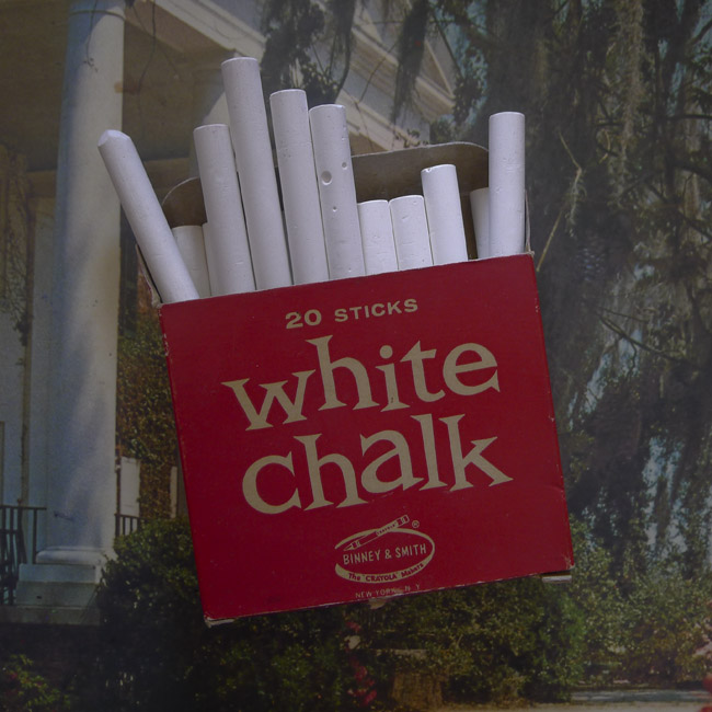 Red Box of White Chalk