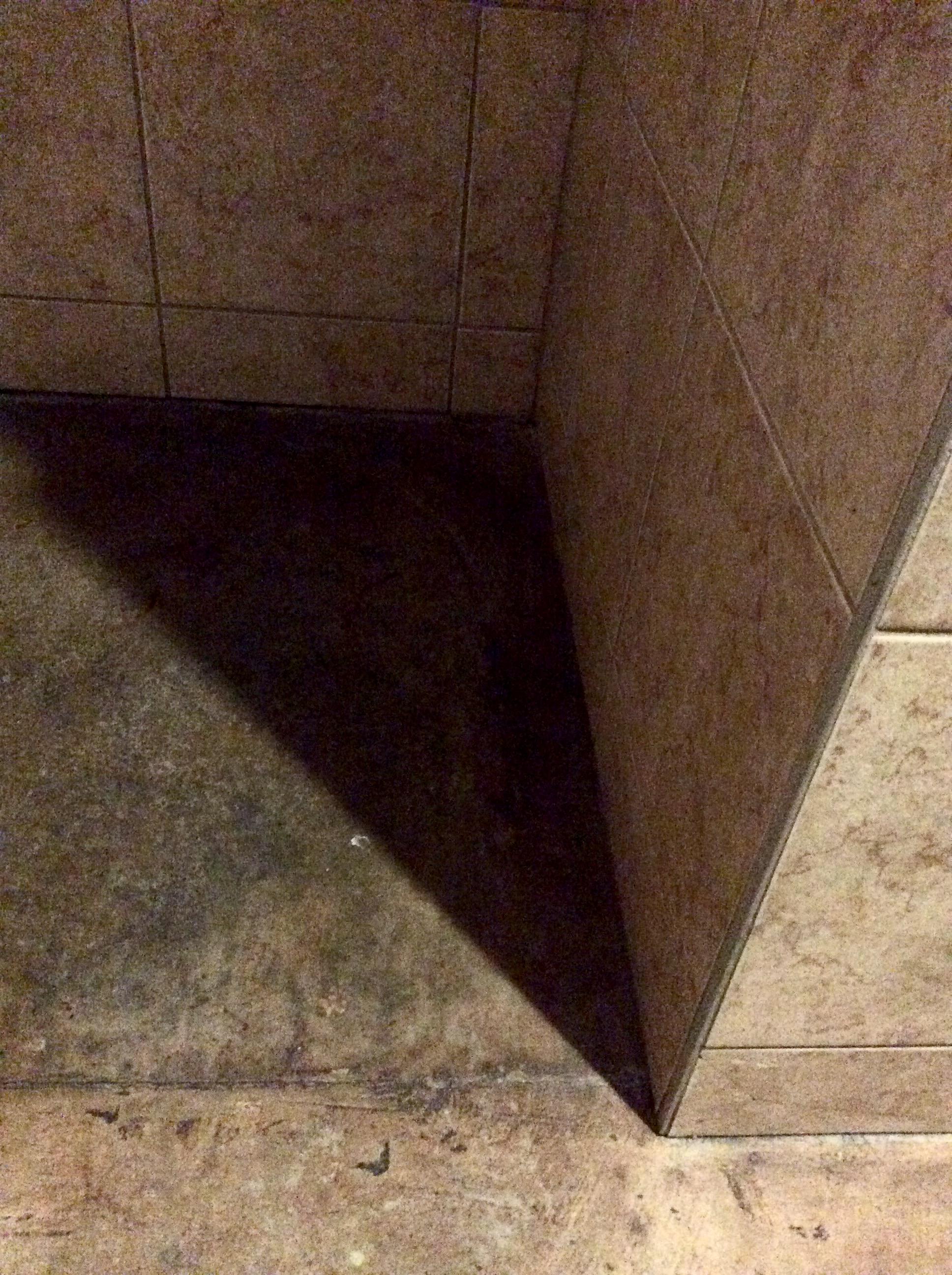 Ceramic tile bathroom composition
