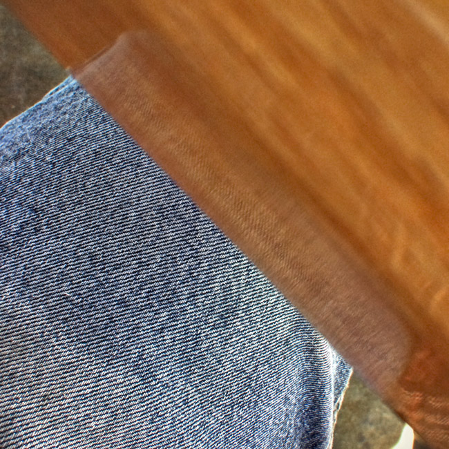 Tabletop and Denim Abstraction