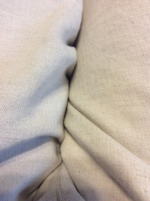 Unbleached Linen Pants