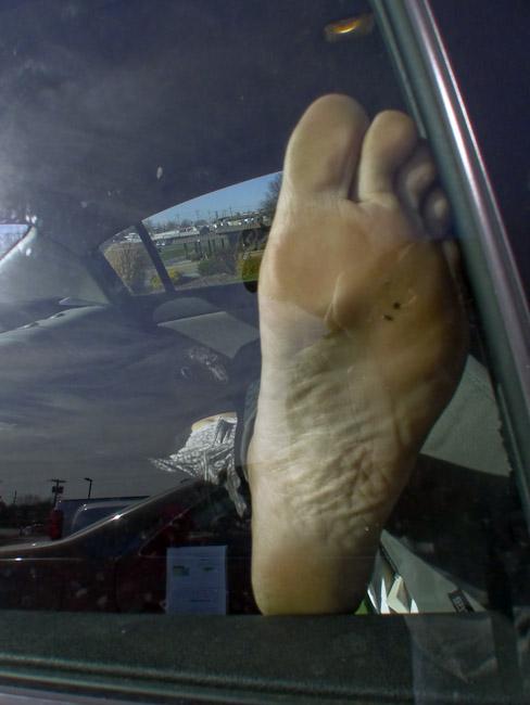 Jan's left foot