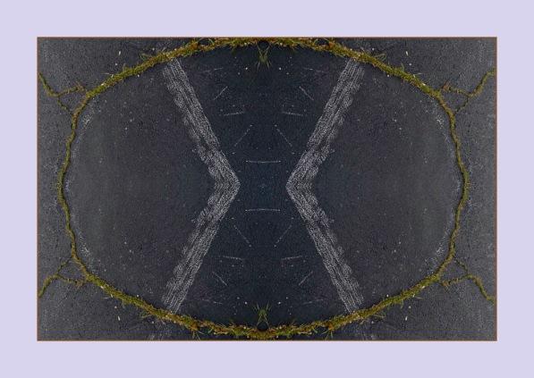 Asphalt Easter Egg Mandala