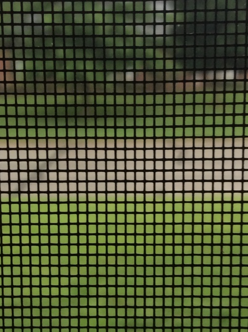 Screen door mesh