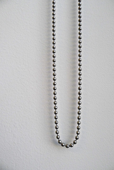 Composition in greys, Curtain Chain
