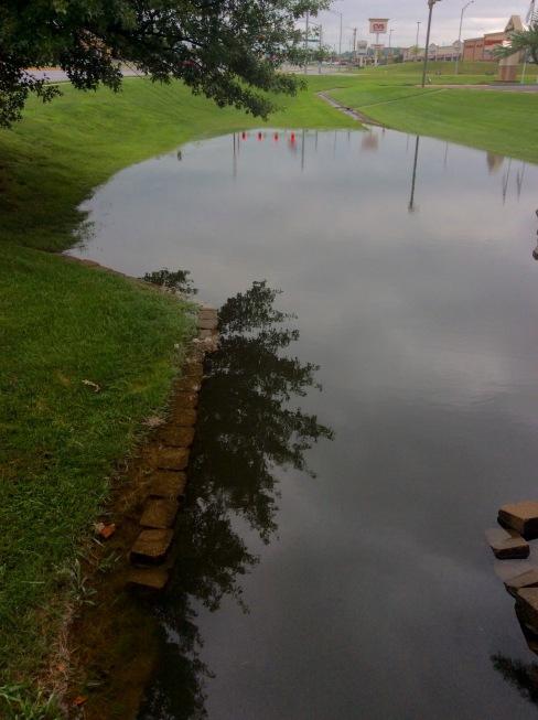 Storm waterrun off, Republic Road