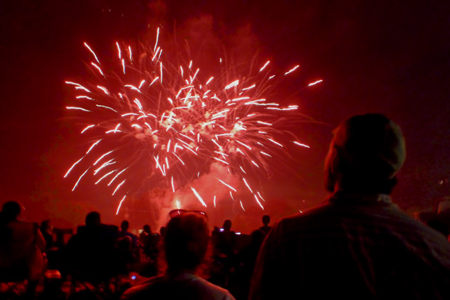 2016 Fourth of July celebration in Battlefield, Missouri