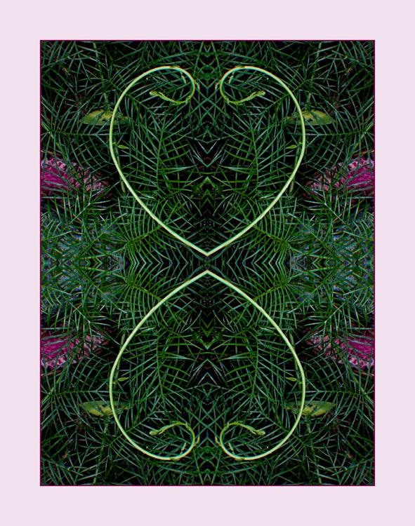 Heart Vine Filigree, Mandala