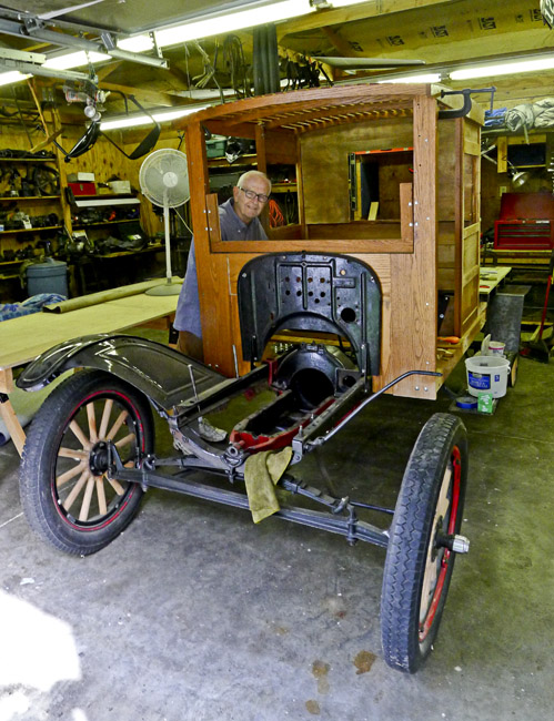 Fred's Model-T flatbed huckster