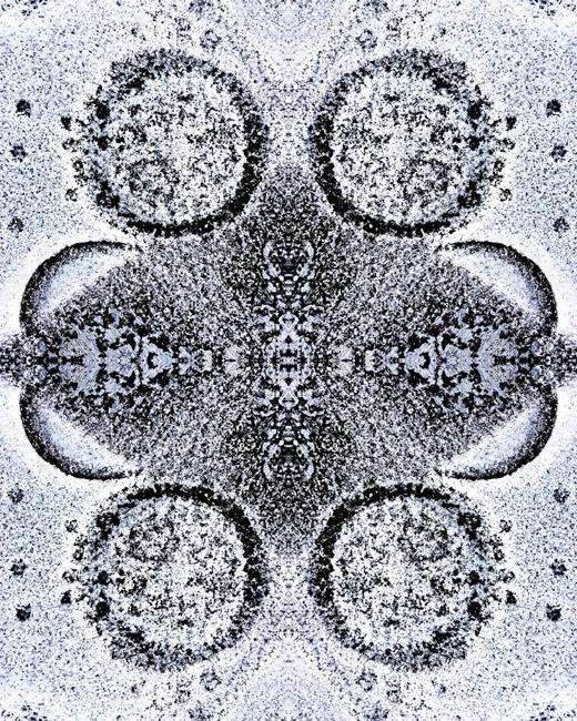 Snow and Concrete Mandala
