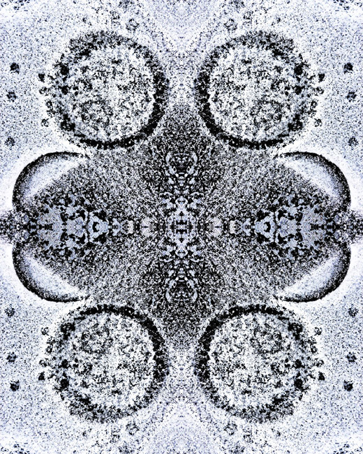 Snow and Concrete Mandala