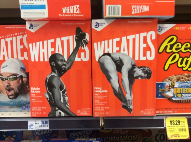 Edwin and Greg are finally on a Wheaties box