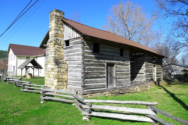 Chaney Log House