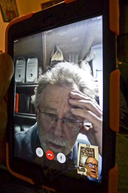 FaceTime with Len
