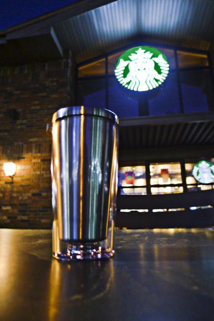 New plastic encased Stainless Steel mug