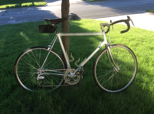 Scott's Palo Alto bicycle