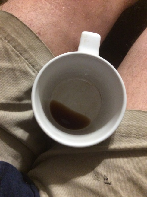 In the lap of coffee