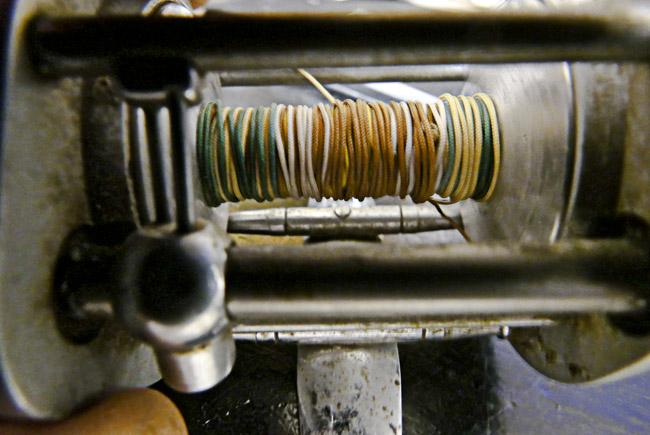 Vintage Pflueger Supreme bait casting reel