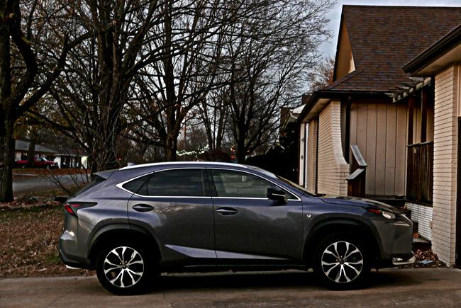 Gray Lexus,The last light of the day