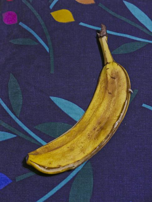 Flattened Banana