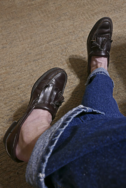 Sebago hand sewn loafers