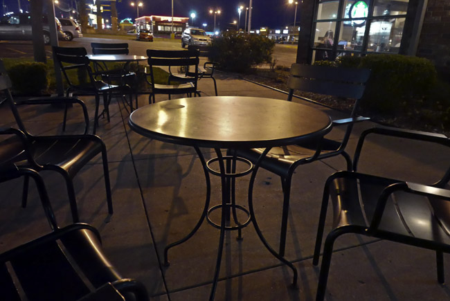 Empty tables