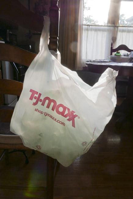 Backlit Plastic Bag
