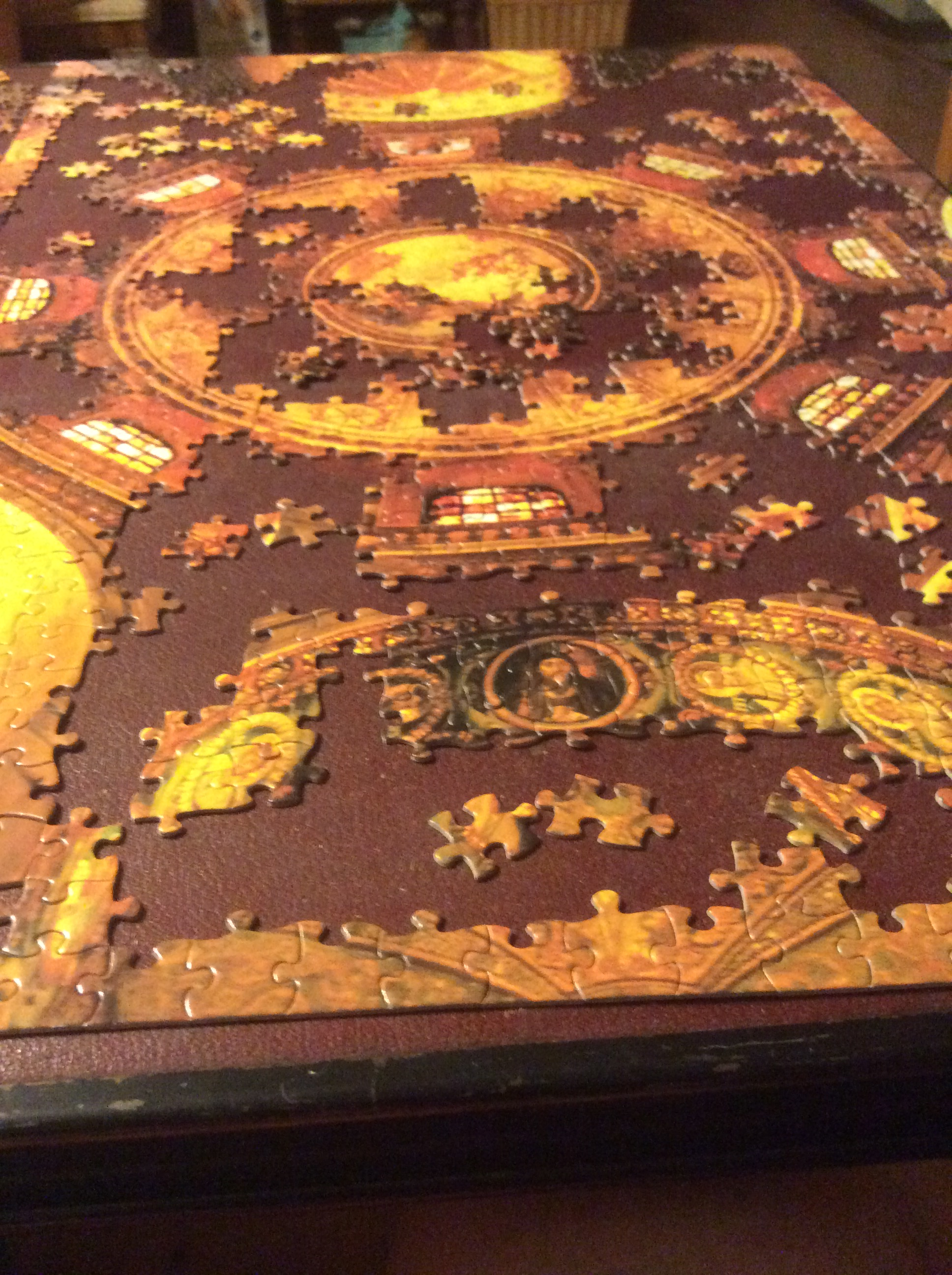 Cathedral dome jigsaw puzzle.
