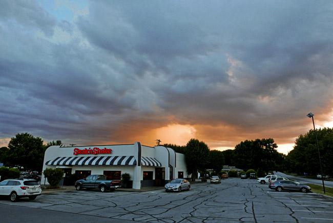 Hamburger Sunset