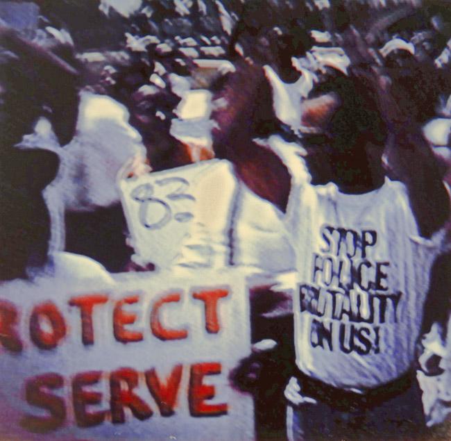 Rodney King beating, circa 1991