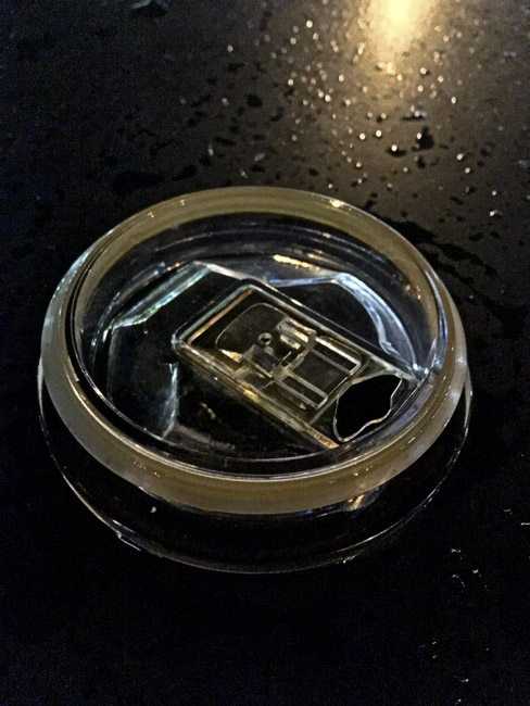 Coffee mug lid