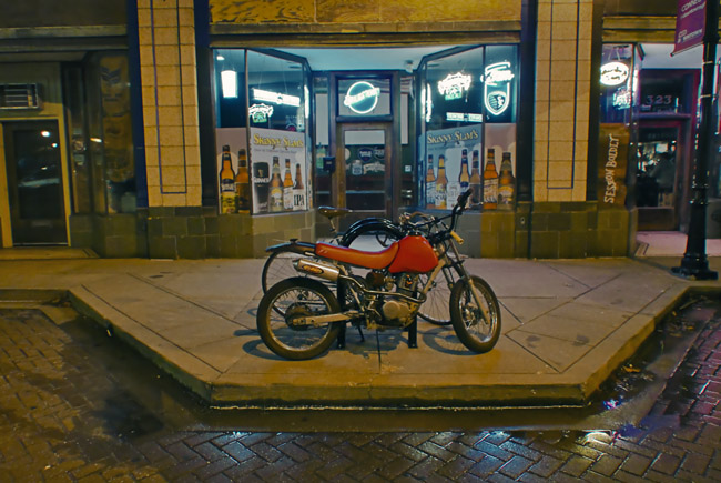 Small motorcycle