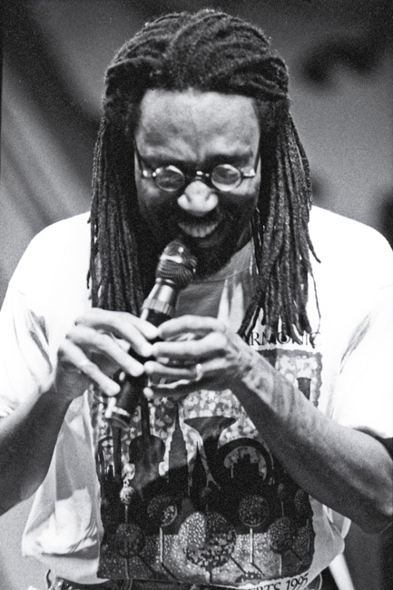 Bobby McFerrin on the main stage at Monterey, circa 1995