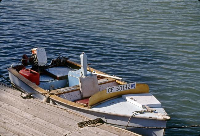Work boat, circa 1989