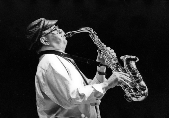 Phil Woods at Yoshi's, Jack London Square, circa 1995