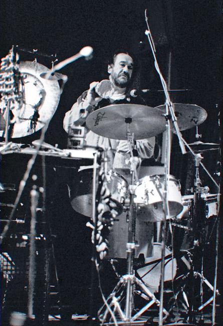 Airto at Yoshi's on Claremont, circa 1993