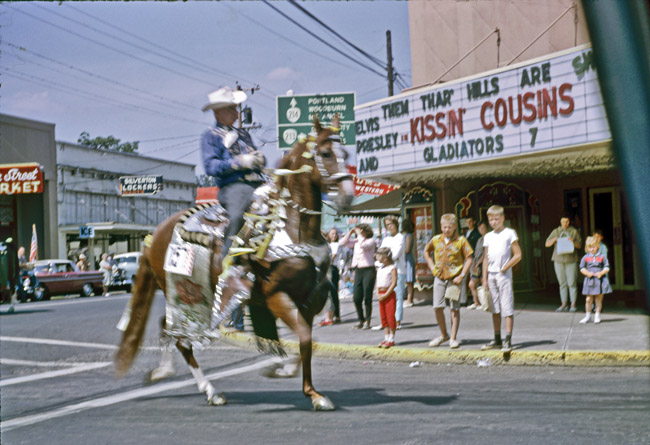 """Kissin Cousins"" and the Portland Rose Parade, circa 1964"