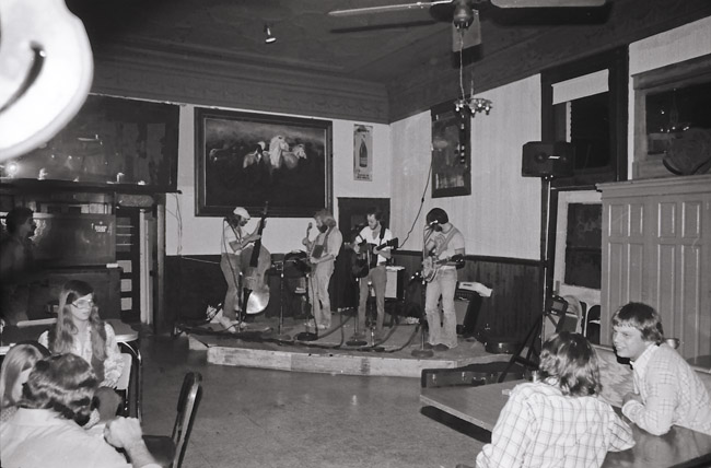 The Undergrass Boys at Lindburgs, circa 1979