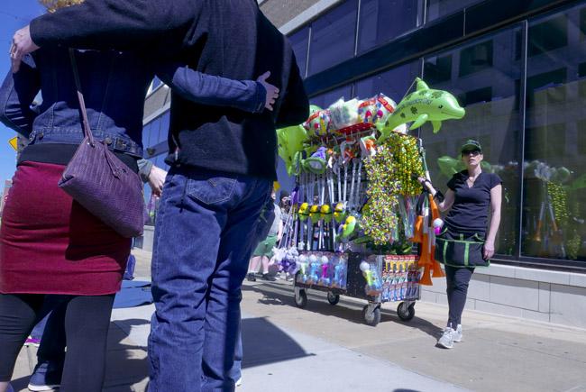 St Patrick's Day parade impulse buy