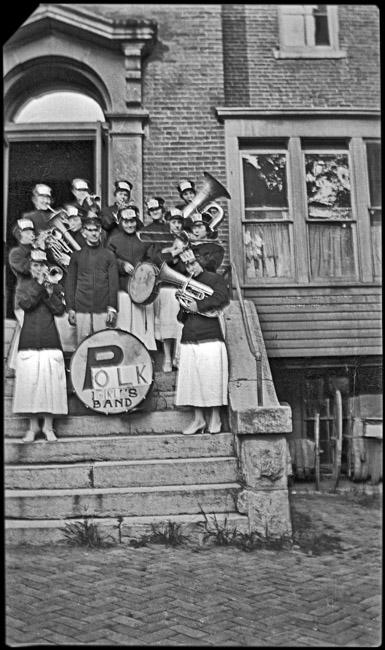 Girls Band, Polk High School, circa 1920s
