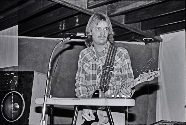Portrait of the artist as a young axe man, circa 1978