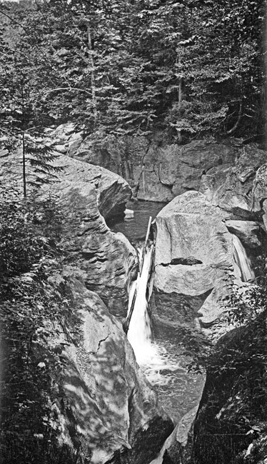 Another Rocky Mountain Waterfall, circa 1940s
