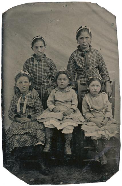Tintype, Five Sisters