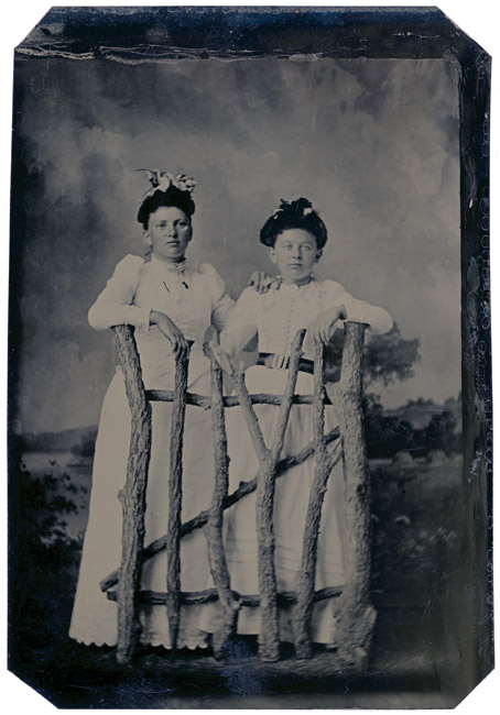 Tintype, Two sisters