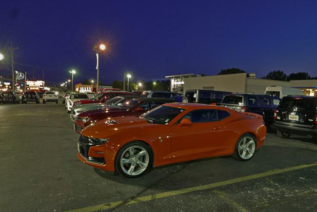 Orange Camaro