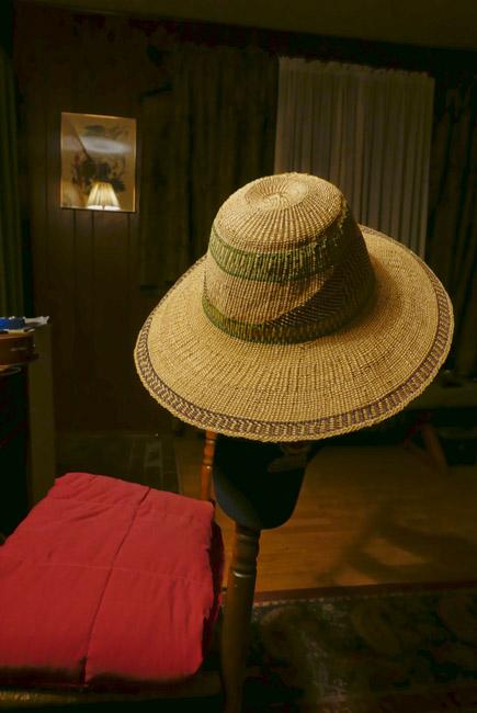 African garden hat
